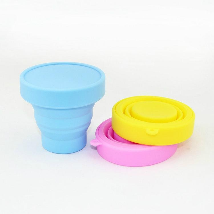 Collapsible Silicone Cups / Promotional product fully customized  to your requirement UK Supplier