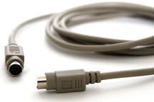 RT-40 8-pin mini din extension cable (6-ft)