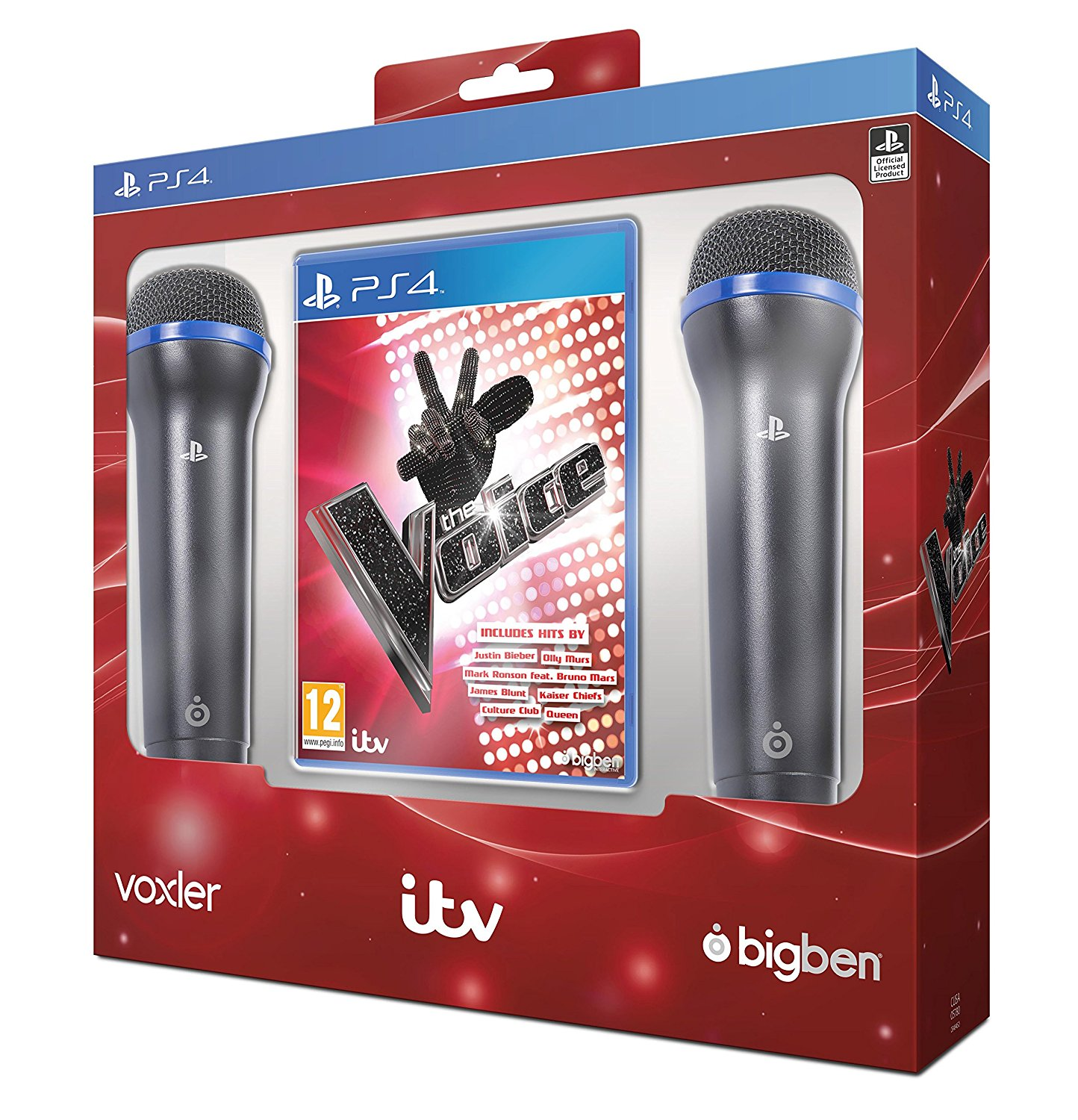 The Voice Includes 2 Microphones PS4