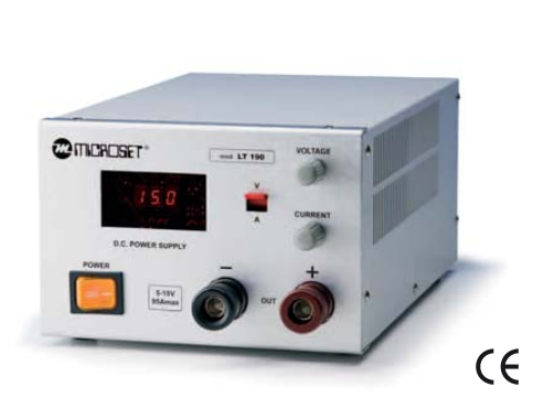 Microset Laboratory Heavy Duty Power Supply