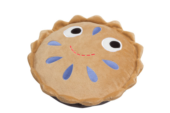 Cute Fruit Pie Soft Toy ? - Fully Customisable Plush