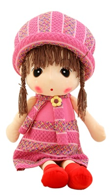 Cute Little Doll - ?Fully Customisable Plush