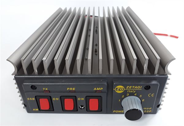 ZETAGI B550P POWER AMPLIFIER