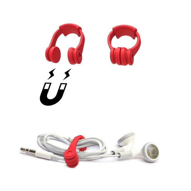 Earphone Cable Tidy / Promotional product fully customized