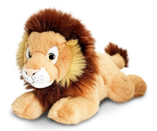 Cuddly Lazy Lion - Fully Customisable Plush