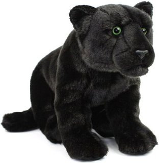 Cute Panther - Fully Customisable Plush