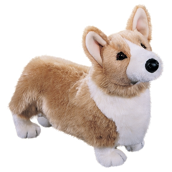 Cuddly Corgi Dog Soft Toy ?- Fully Customisable Plush