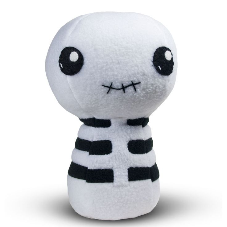 Cuddly Cute Skeleton - Fully Customisable Plush