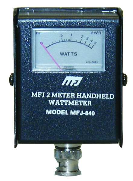 MFJ-840 low power watt meter.
