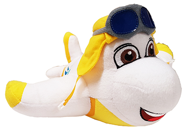 Cute Little Plane - ?Fully Customisable Plush