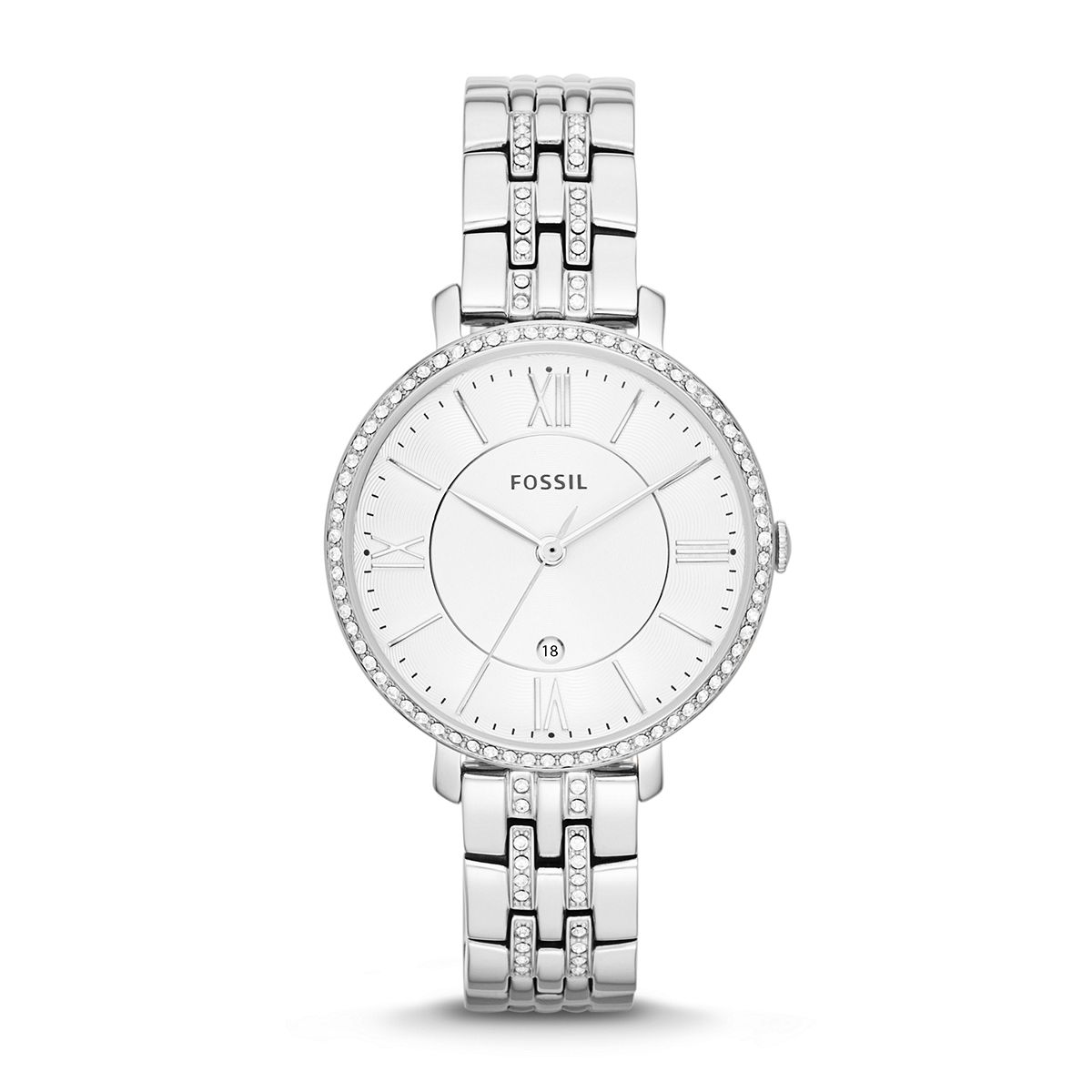 Jacqueline Ladies Silver Tone Watch  / Promotional product fully