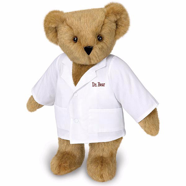 Cuddly Dr. Bear - Fully Customisable Plush