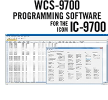 WCS-9700 Programming Software for the  Icom IC-9700