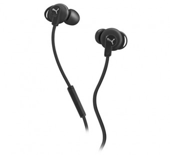 Puma Bulldogs In-Ear Headphones with Mic - Black