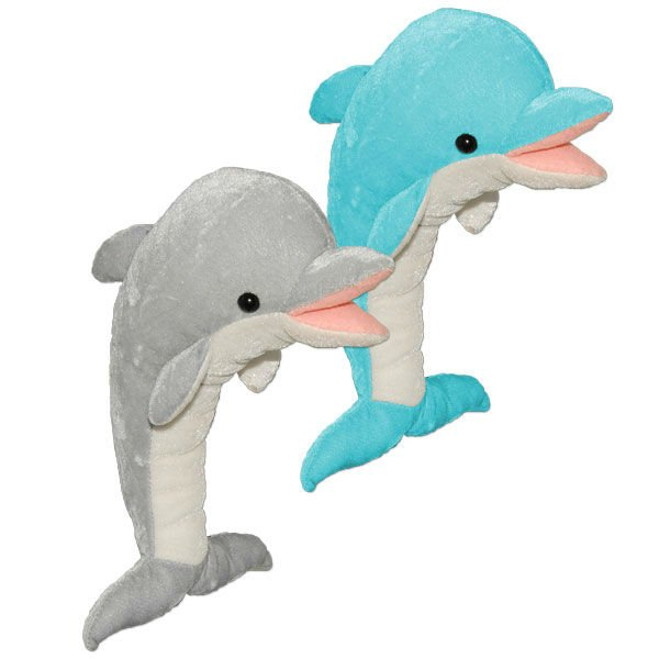 Cuddly Dolphin - Fully Customisable Plush