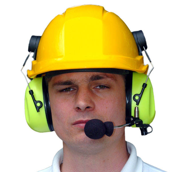 A-KABEL De-Icing Headset (Helmet Attached) - Ground Support