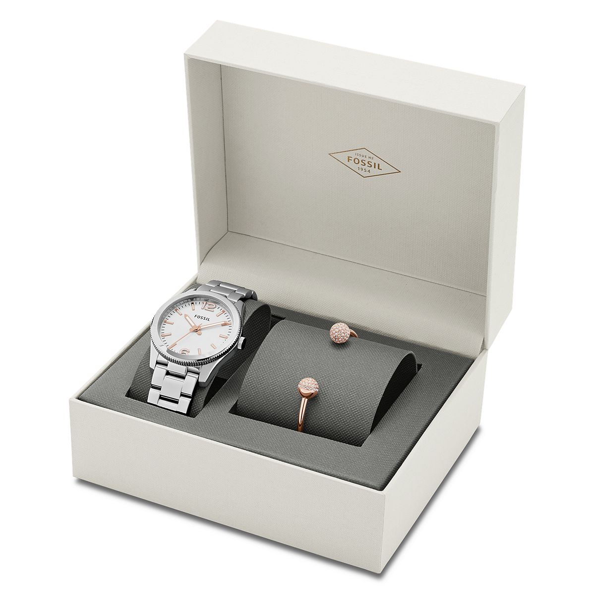 Ladies Boyfriend Watch and Bracelet Set ?/ Promotional product f