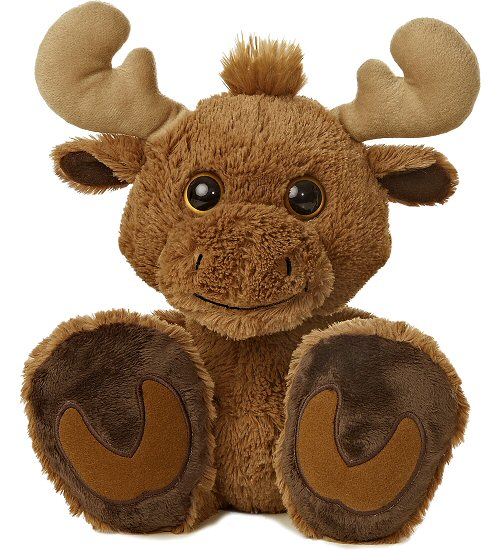 Cute Baby Moose - Fully Customisable Plush