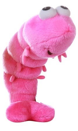 Cute Shrimp 1  - Fully Customisable Plush