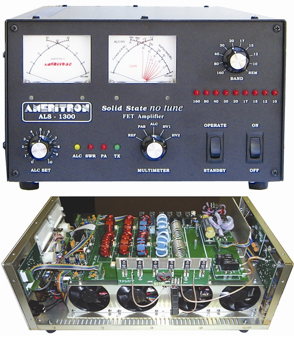 ALS-1300X Solid State 1200W Output HF Linear