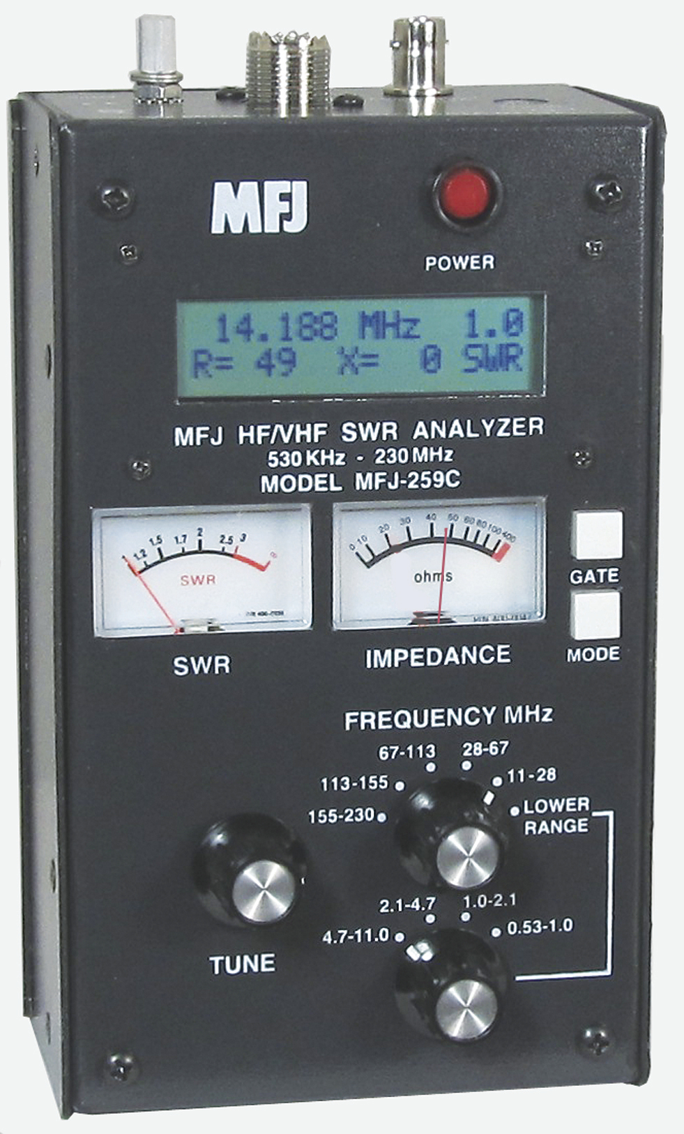 MFJ-259C  Antenna  Analyzer,