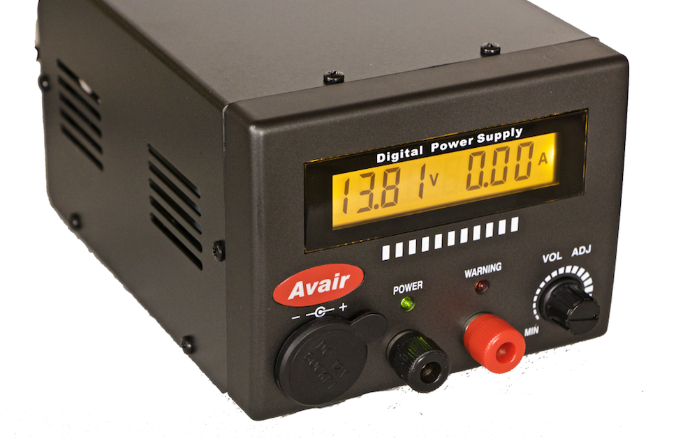 AVAIR AV-2025D 25 Amp Digital power supply