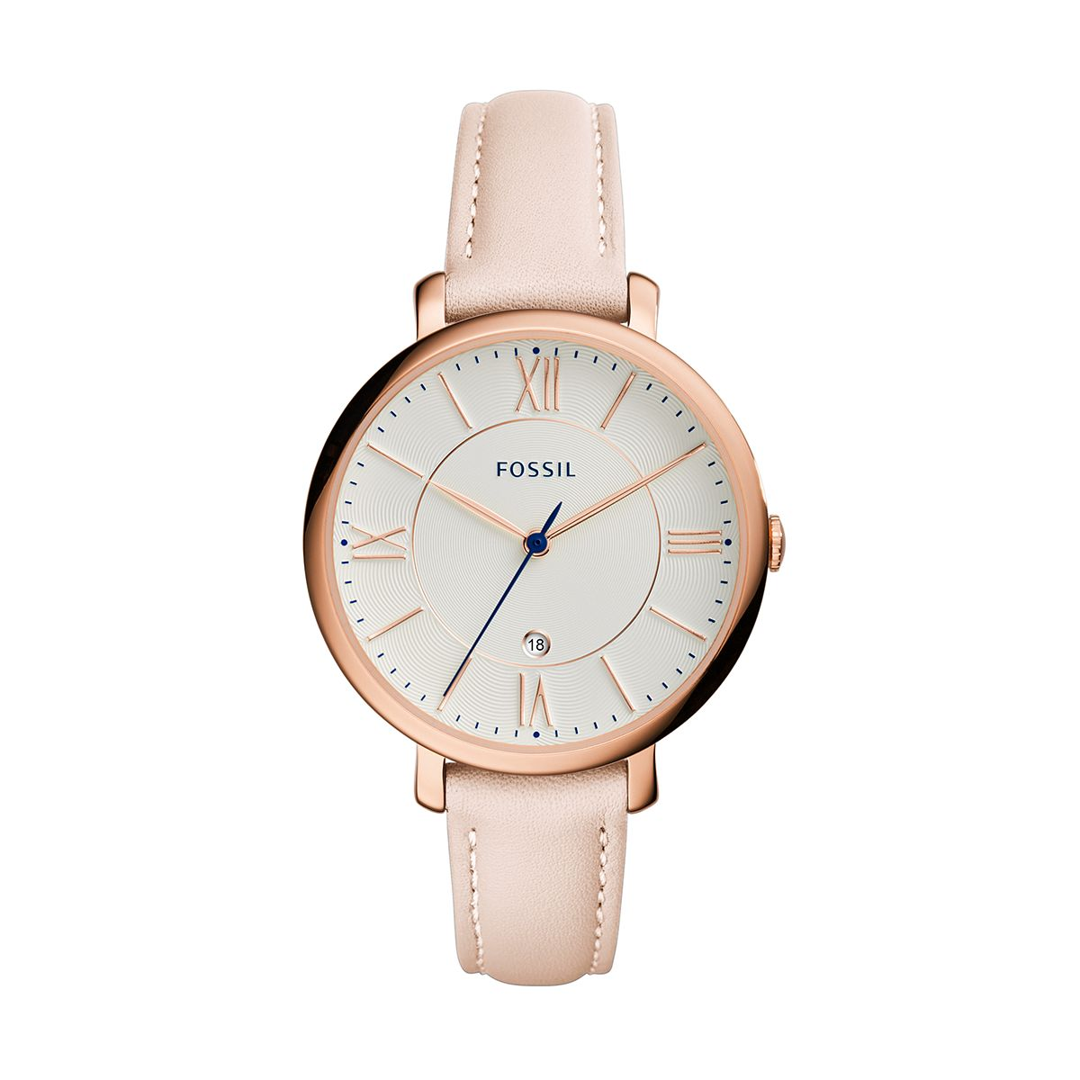 "Jacqueline ""Blush"" Leather Ladies Watch / Promotional product fu"