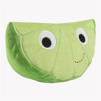 Cute Slice of Lime - Fully Customisable Plush