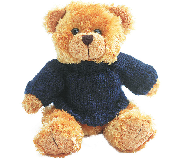 Teddy bear with jumper / Promotional product fully customized  to your requirement UK Supplier