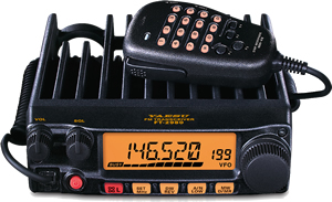 FT-2980R 80 Watt Heavy-Duty 144 MHz FM Transceiver