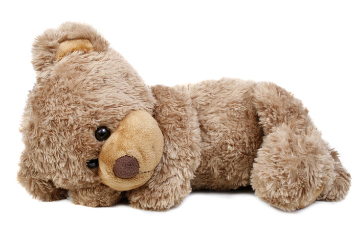 Cuddly Snoozing Bear - Fully Customisable Plush
