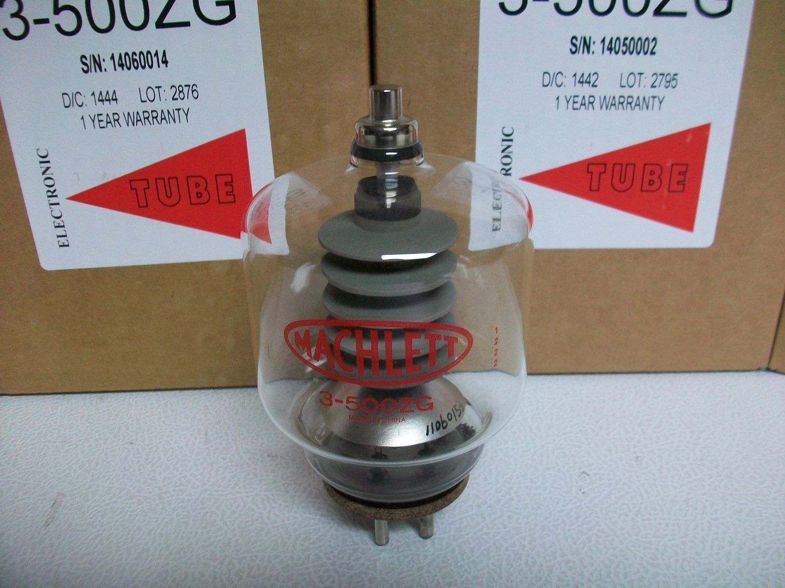 Transmitter Valves Uk Fm 45w With Valve 3 500zg Amplifier New And Sealed Box