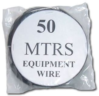 50m Stranded Black Ham Radio Equipment Wire 1