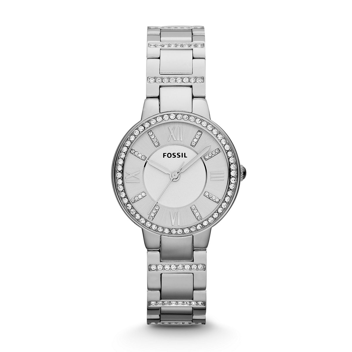 Virginia Ladies Silver Tone Watch /  Promotional product fully c