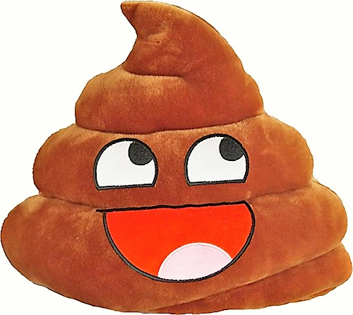 Cheeky Emoji Poop - ?Fully Customisable Plush
