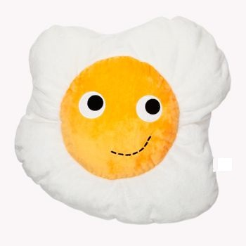 Fried Egg Soft Toy