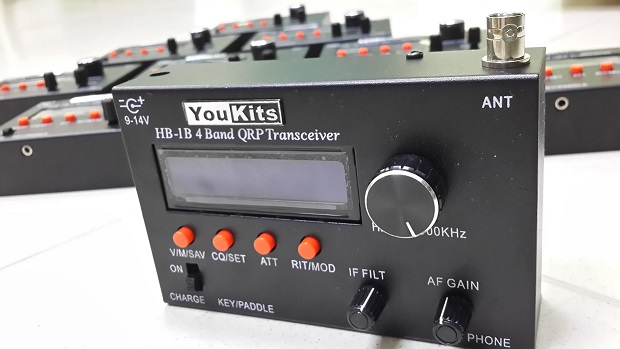 Youkits HB-1B MKIII (3) 4 band QRP CW transceiver