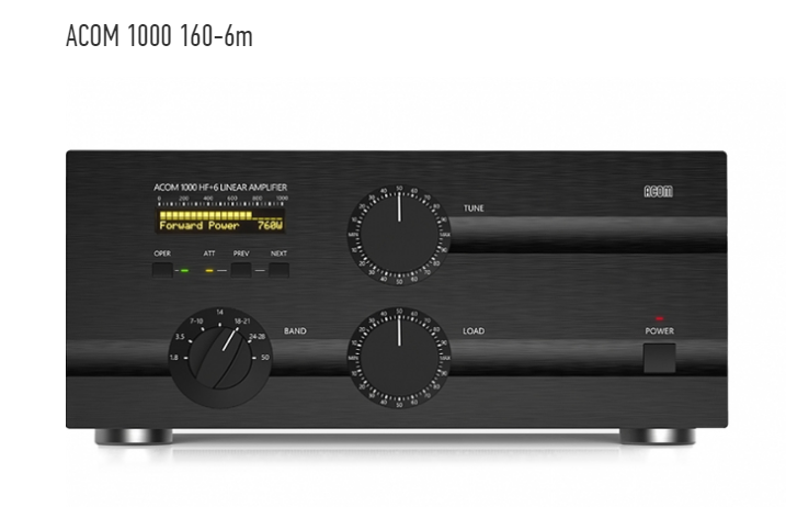 Acom 1000 160-6M Linear Amplifier