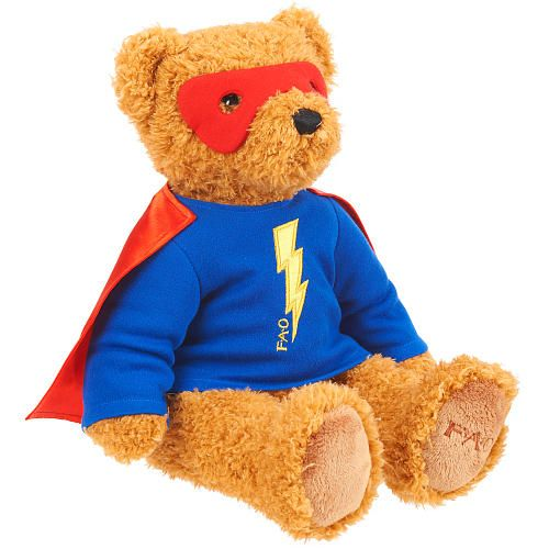 Cuddly Superhero  - Fully Customisable Plush