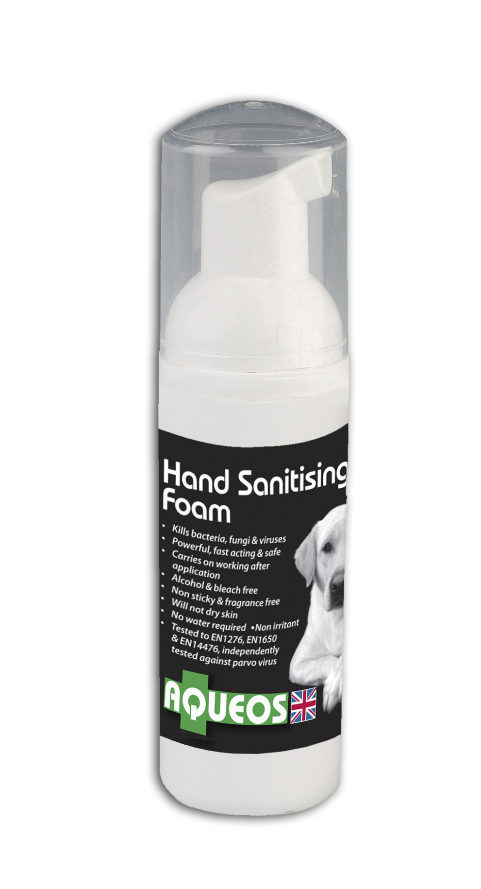 50ml Canine Anti-Bacterial Hand Sanitising Foam  (AQC6002)