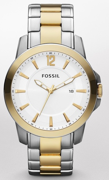 Classic Casual Two-Tone Watch For Men