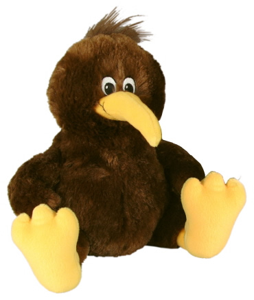 Cute Kiwi Bird - Fully Customisable Plush