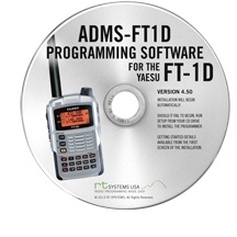 ADMS-FT1D Programming Software Only for the Yaesu FT-1D