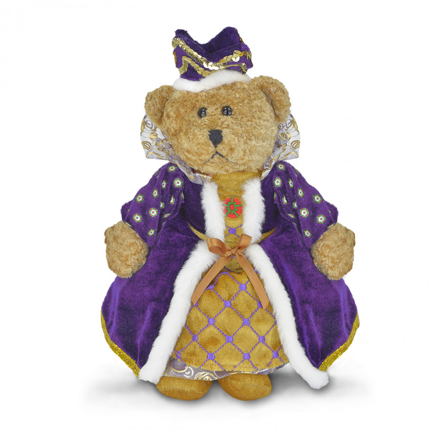 Queen Beartrice Soft Toy - Fully Customisable Plush