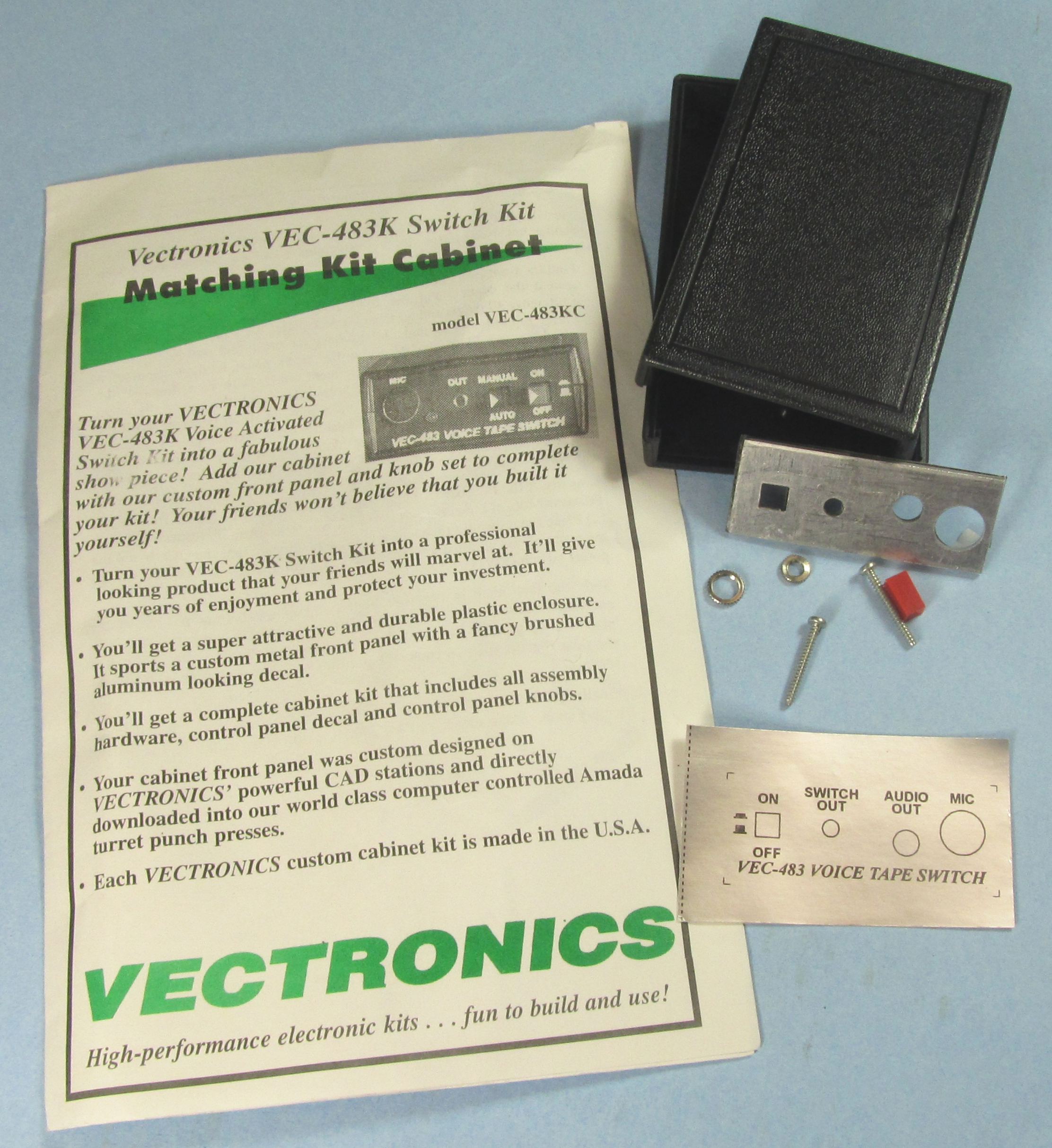 VEC-483KC Vectronics Metal Case for VEC-483K