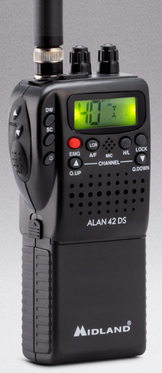 ALAN 42 DS MULTI Multi Channel CB Handheld