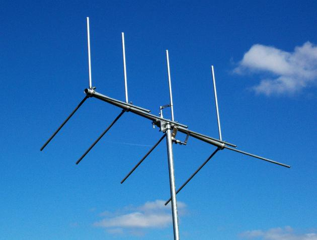 GIZMOTCHY horizontal and vertical beam antenna
