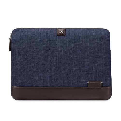 Brenthaven Collins Sleeve for 13-Inch MacBook Chambray Blue