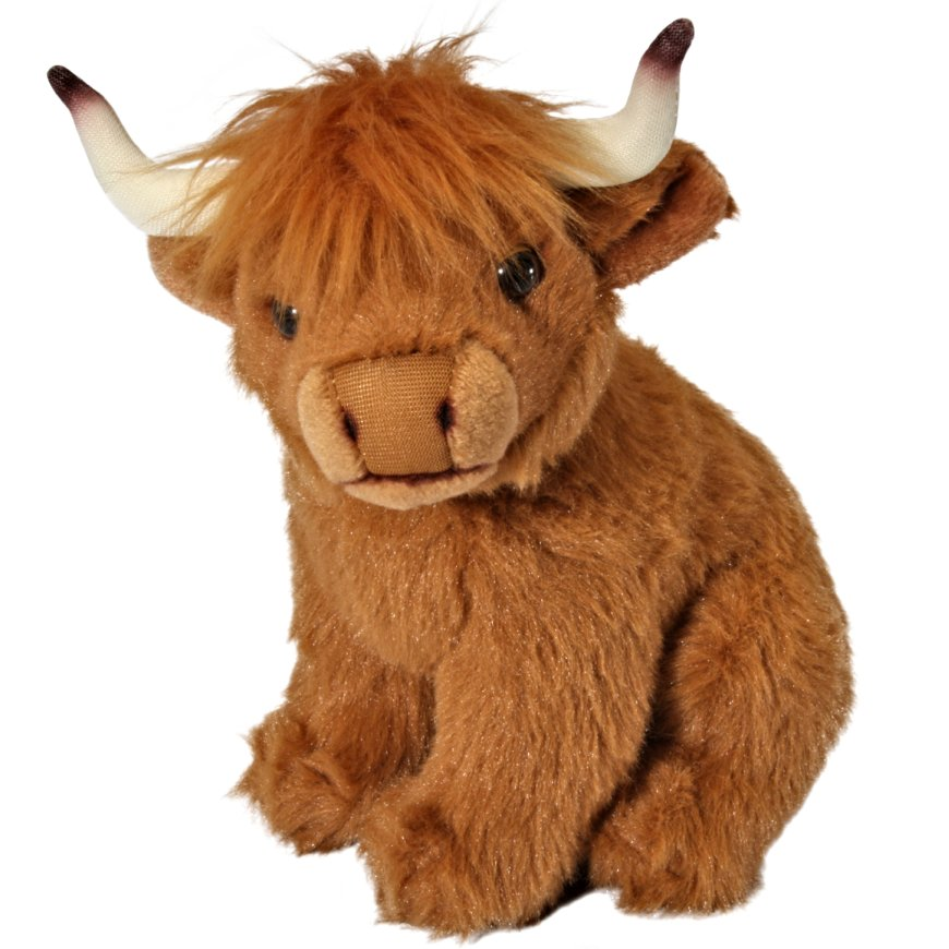Cuddly Highland Cow - Fully Customisable Plush