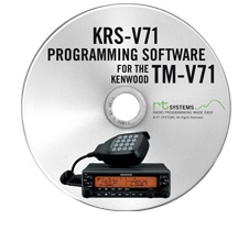 KRS-V71 Programming Software Only for the Kenwood TM-V71